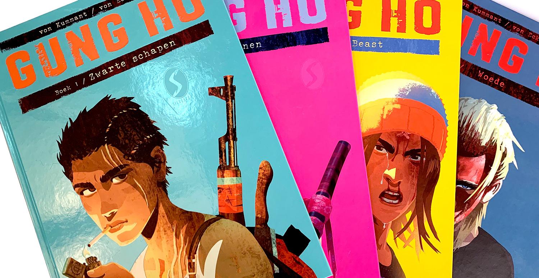 Gung Ho: covers deel 1 t.e.m. 4