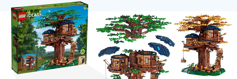 LEGO Ideas Boomhut (21318)